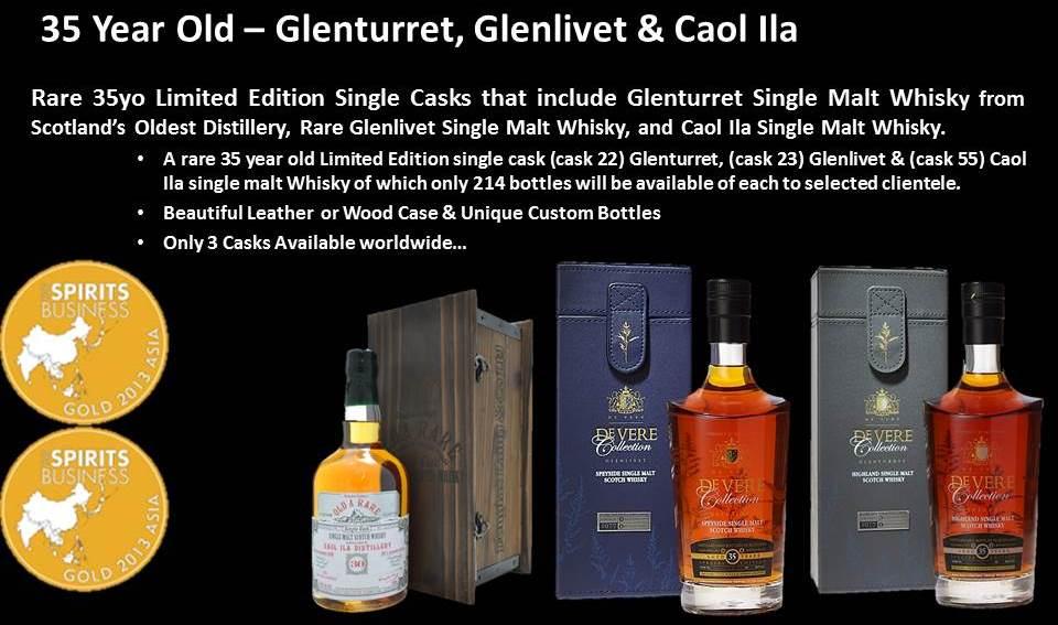35 Year Old – Glenturret, Glenlivet & Caol Ila