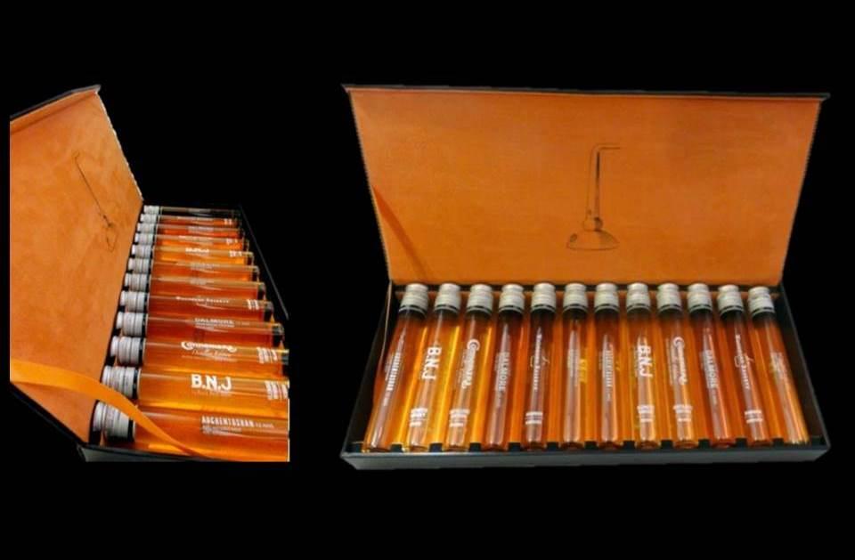 whiskey in tubes packs